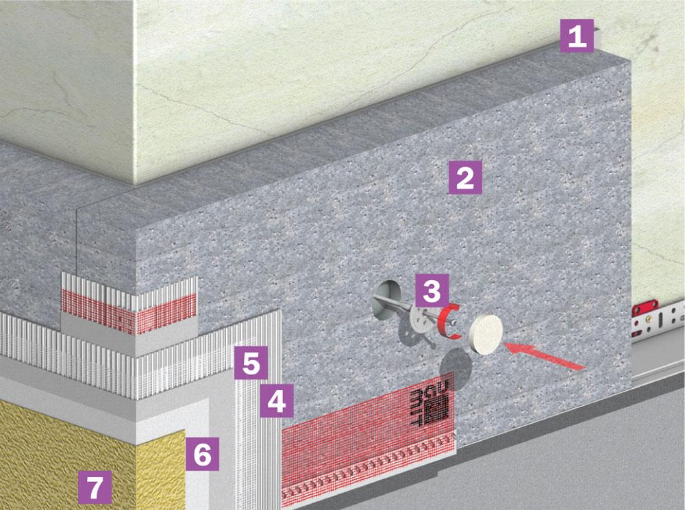 termoizolarea fatadei moldova