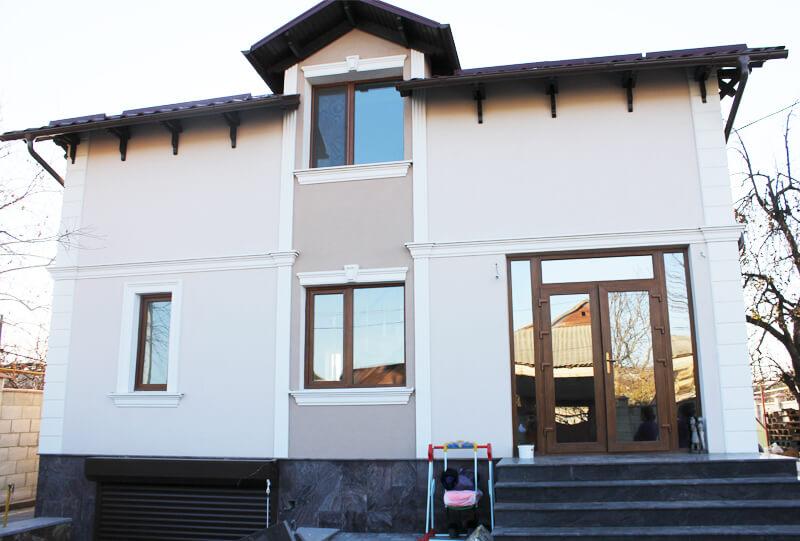 Termoizolarea fatadei in Moldova, de compania Termoart - Lux casa, fatada, baumit