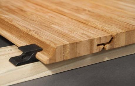 Fixarea lemnului, sistemul de prindere de tip ascuns al fatadei ventilate si decking
