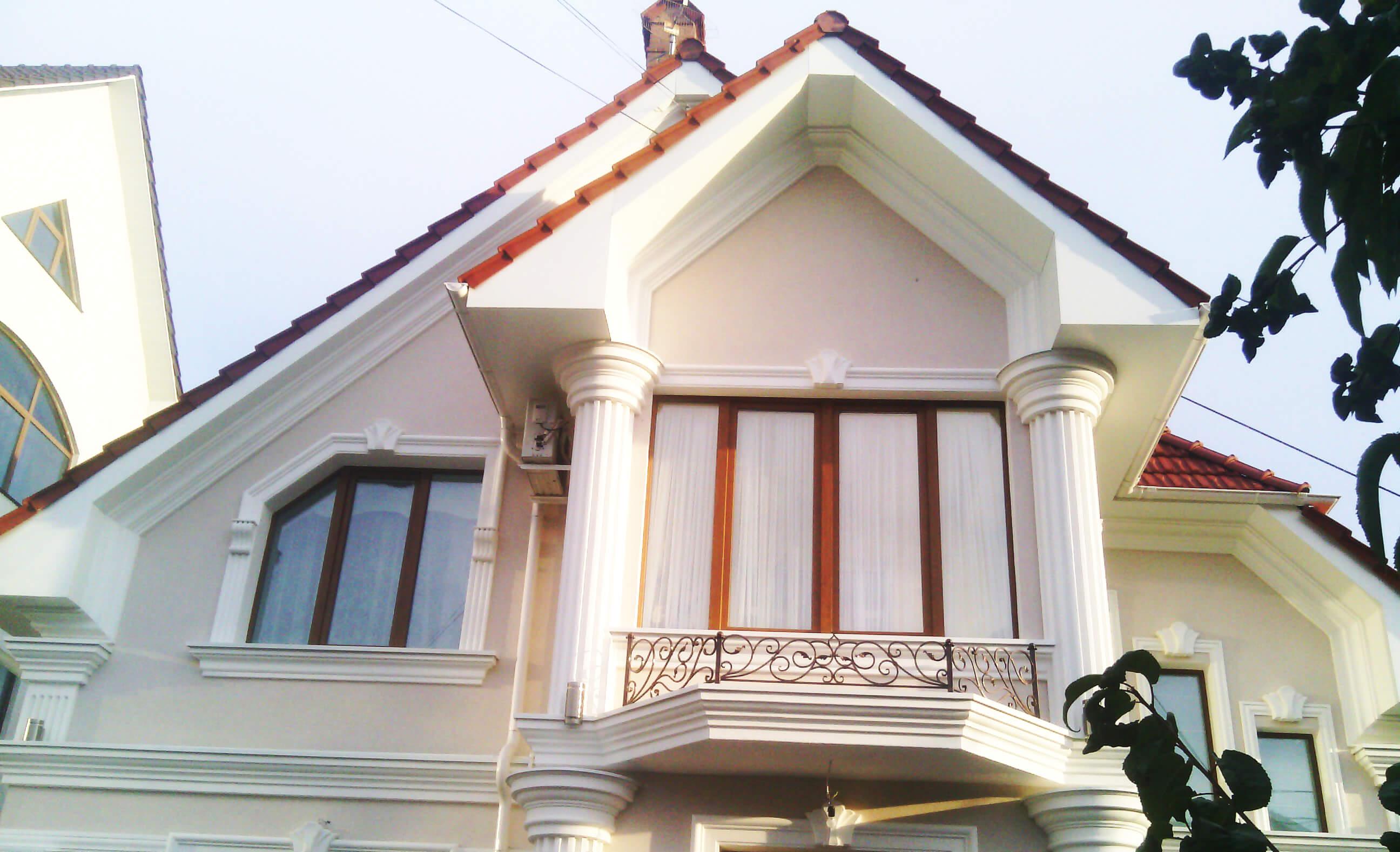 Streasina casei din panouri de aluminiu compozit, Chisinau, Moldova