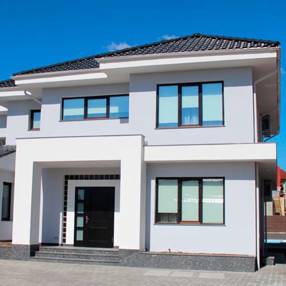 Termoizolare fatada in Moldova, de compania Termoart - Lux , casa, fatada, baumit