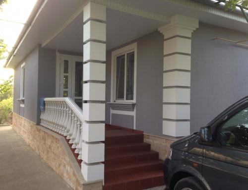 Термоизоляция фасада Carpineni